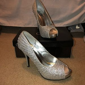 Silver High-Heels